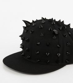 Devil Snapback I would love this hat but without all the spikes and just the horns ^_^