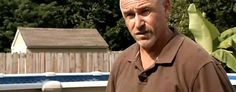 William Merideth, 47, a Drone Killer lives in Hillview, Ky. (Screen shot courtesy WDRB-TV)