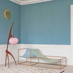 Muller Van Severen | Chaise Lounge #mullervanseveren #furniture #interior by thepuertoricansocialclub