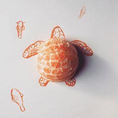 Les illustrations mêlant objets usuels et dessins que vous découvrez ne sont pas l'oeuvre de Christoph Niemann, mais celles de Kristián Mensa alias Mr.Kiss.   Il s'amuse d'un rien Cet artiste tchèque tout aussi inspiré s'amuse lui aussi à intégrer dans ses illustrations naï