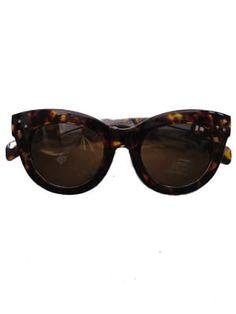 Tortoiseshell Look 1940s Sunglasses