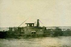 """Буксирний пароплав """"Шарлотта"""", який використовував Зелений, 1919 рік. З фондів Дніпровського національного історичного музею ім. Д. Яворницького"""