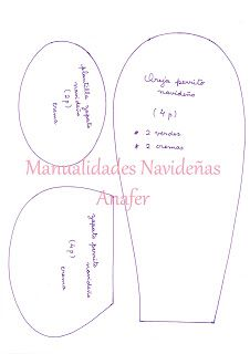 Manualidades Anafer: Moldes Christmas Crafts, Place Card Holders, Blog, Cilantro, Patterns, Ideas, Bed Skirts, Christmas Ornaments, Wreaths