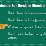 Basic guidance to start the new blog for newbie memebers