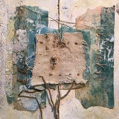 Fabric Art, Fabric Books, Book Journal, Journals, Textile Art, Fiber Art, Moose Art, Mixed Media, Collage