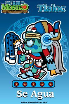 """Tlaloc """"Dios de la lluvia"""" Mexican Gods, Mexican Art, Aztec Calendar, Aztec Art, Mesoamerican, Aztec Designs, Owl Art, My Heritage, Cool Drawings"""
