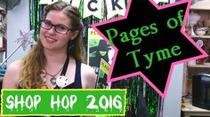 Shop Hop 2016- Pages of Tyme