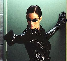 Carrie Anne-Moss as Trinity in The Matrix Trilogy