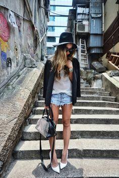 Love jean shorts