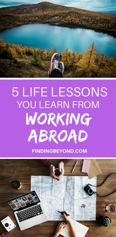 Living and working abroad opens your eyes in more ways than one. It's not as easy as you might assume. Read this to understand the 5 life lessons you'll learn while working remotely. Travel Advice, Travel Guides, Travel Tips, Travel Destinations, Travel Plan, Travel Stuff, Work Overseas, Moving Overseas, Travel Couple