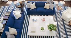 Stylish Nautical-Themed Rooms - ELLE DECOR
