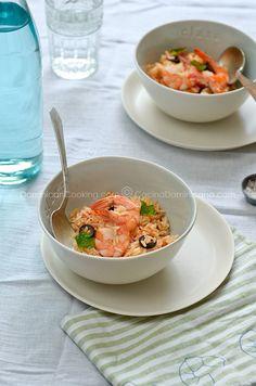 Receta: Locrio de camarones – Cocina Dominicana