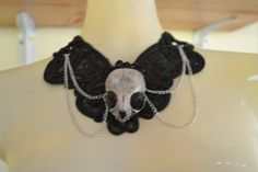 Awesome Kitten Skull Necklace!!