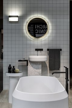 Agape | Lariana | Bathtub: Smooth Flowing And Straight Lines Shaping Its  Compact Structure