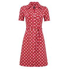 Dress Betsy Bloms Red