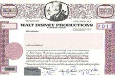 Walt Disney Share