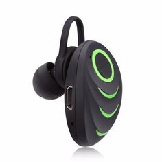 7506f101925 Portable Excelvan Wireless Bluetooth One-Piece Earphone with HiFi Stereo  Music Earset and Built-in MicrophoneBluetooth wireless earbuds and headset  for ...