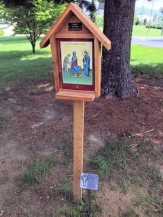 Outdoor Stations of the Cross - Our Lady of the Valley Catholic Church in Luray, Virginia
