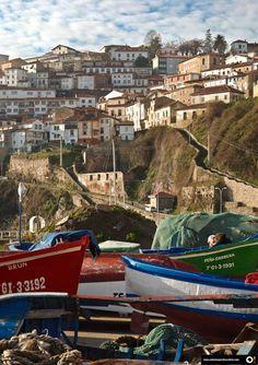 Lastres, Asturias, Spain                                                                                                                                                                                 Más