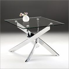 Macu0026Mac:Giorno Antico Glass Side Table, Chrome | Furniture | Pinterest | Glass  Side Tables, Glass And Ranges