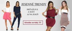 Jesenné trendy na www.fashionll.sk Buďte odvážna vo farbách tejto jesene :)