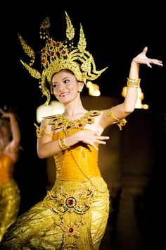 Traditional dancer in Thailand