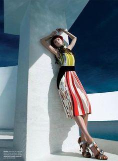 """Sun Goddess"" Vlada Roslyakova for C (California Style) Magazine 2016 Vlada Roslyakova, California Style, Ss16, Editorial Photography, Editorial Fashion, Magazine, Prada, Digital Art, Vacation"