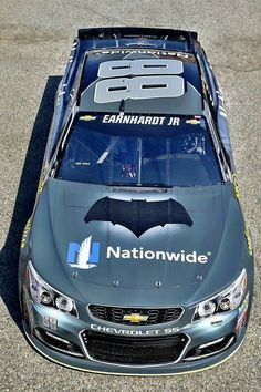 Dale Jr.'s #88 Batman vs. Superman: Dawn of Justice paint scheme