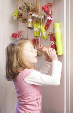 Salvage Savvy: Monday [P]inspiration: Advent Calendar Ideas Christmas Jingles, Christmas Makes, Christmas Design, Christmas Projects, Winter Christmas, Holiday Crafts, Holiday Fun, Christmas Holidays, Xmas