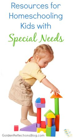 You can homeschool kids with special needs. Here are some resources for homeschool and special needs to get you started. - GoldenReflectionsBlog.com