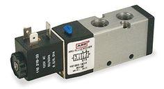 "ARO Ingersoll Rand M212SS-024-D-G 1/4"" 24VDC 4-Way 2-Position Solenoid Air Valve #ARO"