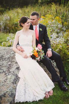 Vermont Real Wedding on vtvows.com | Photography: Eric Foley Photography | Reception Site: Inn at Round Barn Farm