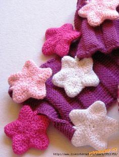 Crochet Puffy Star: diagram