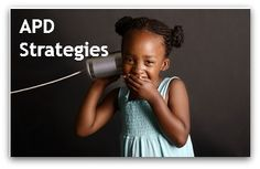 Learn more about auditory processing disorder in children and strategies to improve language deficits.