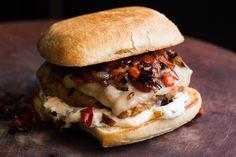 Italian Sausage Burger — SAM THE COOKING GUY