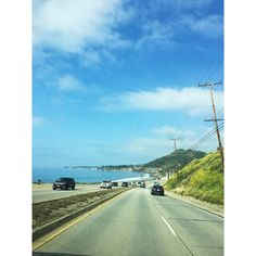 On the way to malibu #pacific #highway #malibu #zuma #romance #60s #filter #beautiful #california #losangeles