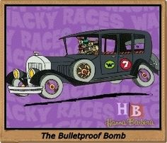 07 / La Antigualla Blindada / Mafio y sus Pandilleros / Los Metepata / The Bullerproof Bomb / The Ant Hill Mob / Clyde, Ring-A-Ding, Danny, Rug Bug, Benny, Mac, Kirby & Willy / Los Autos Locos / The Wacky Races / Hanna Barberá / Hanna Barbera Old School Cartoons, Hanna Barbera, Classic Cartoons, Ants, Mac, Racing, Animated Cartoon Characters, Paint Shirts, Running