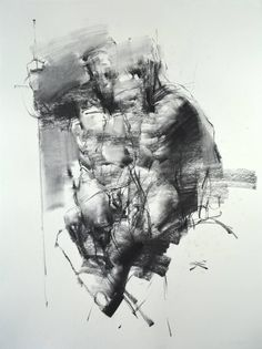 "Saatchi Art Artist Zin Lim; Drawing, ""Figure#D08"" #art"
