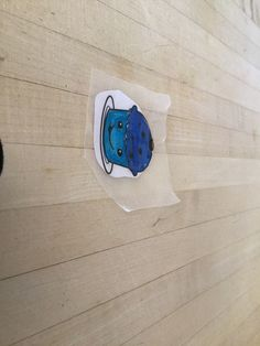 Blue Cupcakes, Cheap Stickers