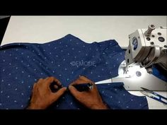 How to stitch placket and collar easy DIY tutorial hindi, placket and collar attaching hindi - YouTube