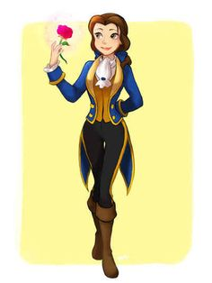 13 Disney Heroines Swap Clothes With Their Heroes