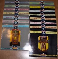 Vinyl Sammlung  THE JUKEBOX COLLECTION 15 LPs