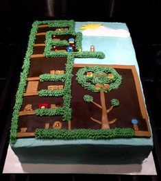 Terreria birthday cake