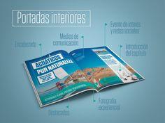 Portadas interiores | Escapismo Natural | Provincia de Badajoz | Laruinagrafica - Estudio creativo y poliédrico