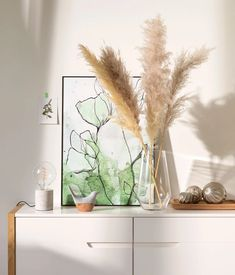 Dekotrend: Pampasgras Grass, Sweet Home, Bedroom Decor, Plants, Home Decor, Pampas Grass, Comforter Set, Arredamento, Pastel