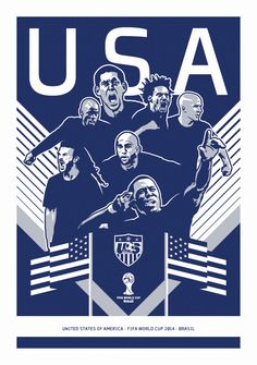 2014 US World Cup Poster on Behance