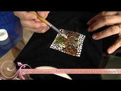 Aprenda a fazer uma linda decoupagem em casca de ovo sobre tecido! - YouTube