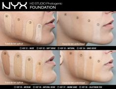 Nyx HD Foundation www.makeup-shop.ro