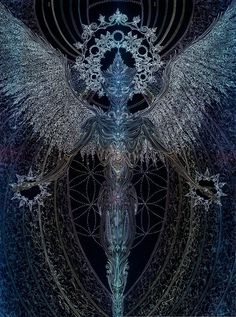 """Angellum Chakra  """"From the Nothing of All  Emerges a Light  Sparking the Soul  And Peace in All"""""""