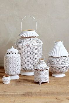 Anthropologie Firefly Lantern